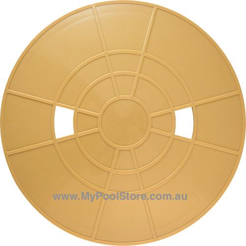Waterco Nally Deck Lid Beige - S75/SK104 Generic Pool Skimmer Plate