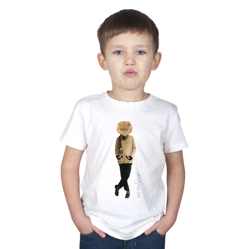 FASHCAT TOM KID'S TEE