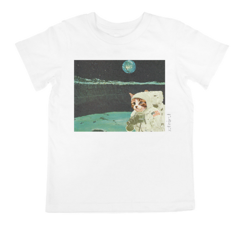 'SPACE CAT-DET THE 9th' KID'S T-SHIRT