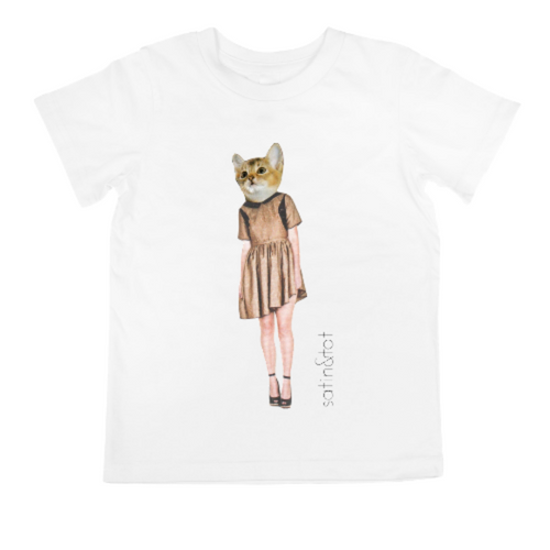 'FASHCAT MARIE' KID'S T-SHIRT