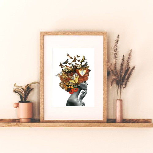 'MADAME BUTTERFLY' PRINT