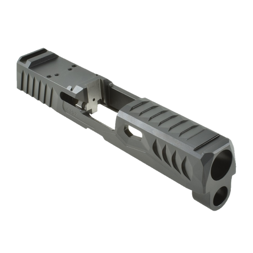 P320C 40/357 RMR Cut Black DLC 1