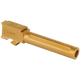 True Precision Barrel, 9mm, Gold TiN, fits Glock 19