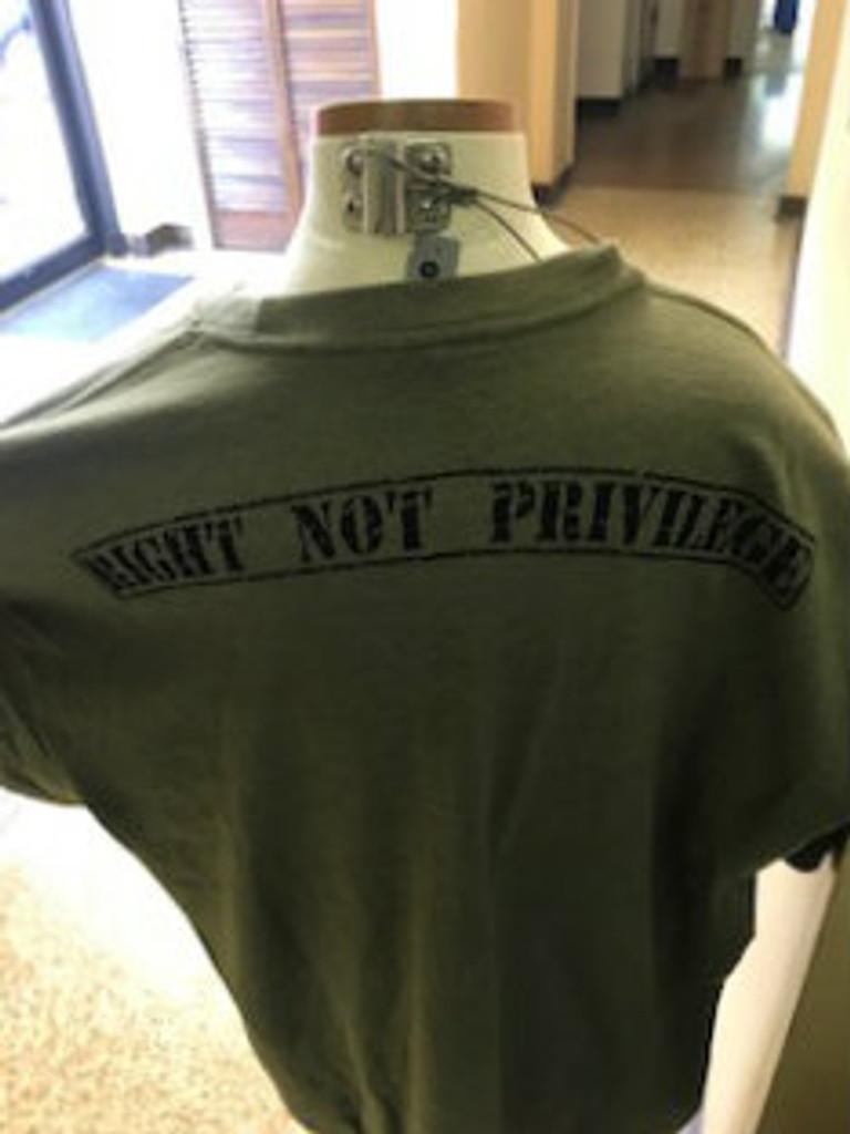 A right now a Privilege