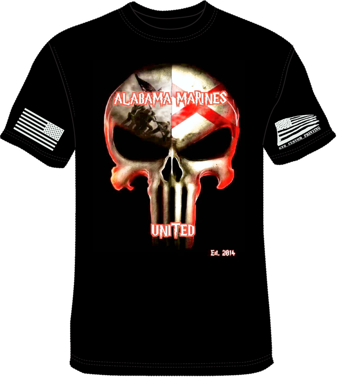 Alabama Marines United (Free Shipping)