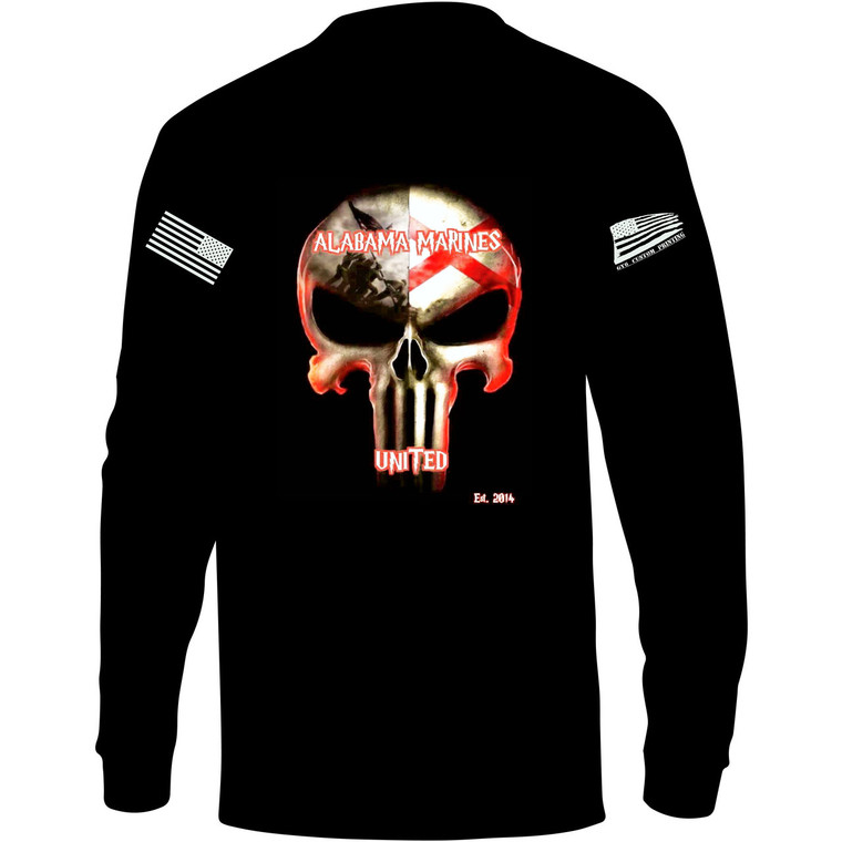 Alabama Marine United Long Sleeve (Free Shipping)