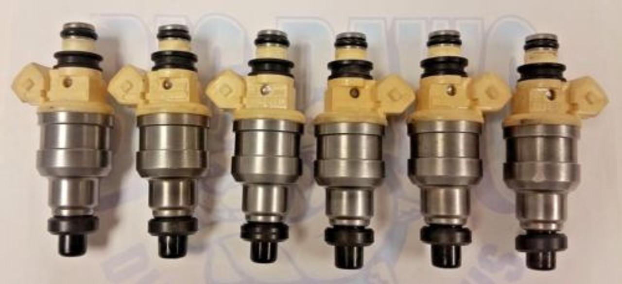 OEM Set of 6 Fuel Injectors For NISSAN MAXIMA 3.0L SOHC Vin H VG30E 1989-1992