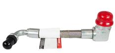 2003 - 2004.5  OEM FORD MOTORCRAFT 6.0L FUEL TUBE CONNECTOR HOSE RH SIDE (PASSENGER) 184mm