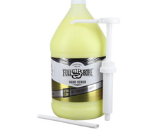 FULL BORE ULTRA FLOW HAND SCRUB 1 GALLON WITH DISPENSER REMOVES OIL GREASE, DIRT, FILTH WITHOUT HARSH CHEMICALS