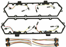 1994-1997 FORD 7.3L POWERSTROKE VALVE COVER GASKET W/GLOW PLUG AND INJECTOR HARNESS KIT (SET OF 2)
