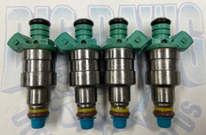 1983-1985 FORD MUSTANG THUNDERBIRD MERCURY CAPRI COUGAR 2.3L TURBO 1984-1991 VOLVO 740 760 780 2.3L TURBO FUEL INJECTOR SET
