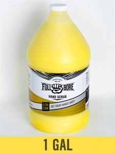 FULL BORE ULTRA FLOW HAND SCRUB 1 GALLON REMOVES OIL GREASE, DIRT, FILTH WITHOUT HARSH CHEMICALS