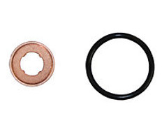 2004.5-2010 CHEVY/GMC 6.6L DURAMAX LLY LBZ LMM INJECTOR O-RING SEAL KIT WITH NOZZLE CRUSH WASHER