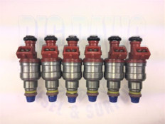 1993-1996 FORD AND MAZDA 4.0L REMANUFACTURED FUEL INJECTORS 0280150931 (Set of 6)