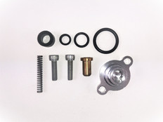 1999 - 2003 FORD 7.3L POWERSTROKE FUEL RELIEF PRESSURE SPRING & SEAL KIT WITH BILLET HOUSING
