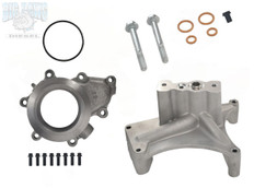1999.5-2003 FORD 7.3L POWERSTROKE TURBO PEDESTAL NON-EBPV & HIGH FLOW EXHAUST PLATE WITH O-RING MOUNTING HARDWARE KIT