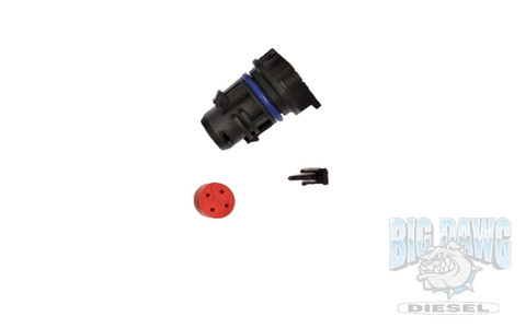 2003-2007 FORD 6.0L POWERSTROKE FUEL INJECTOR CONNECTOR BLACK