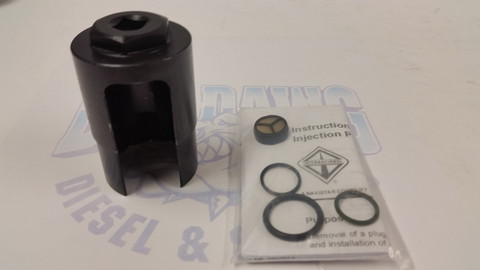 2003-2010 6.0L DIESEL FORD/INTERNATIONAL IPR SCREEN O-RINGS KIT & SOCKET TOOL