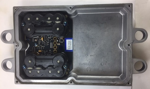 2004-2010 FICM 4 PIN 1/2 SHELL WITH A NEW CIRCUIT BOARD  FORD POWERSTROKE 6.0L FUEL INJECTION CONTROL MODULE (FICM)