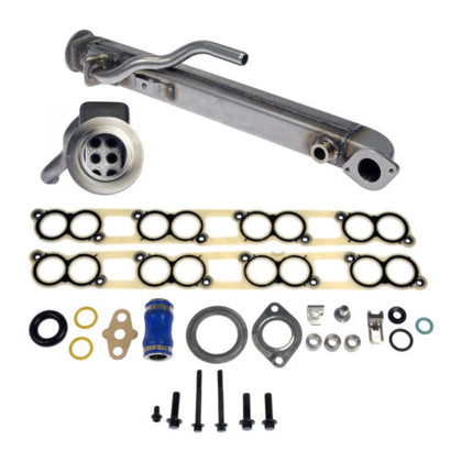 2004-2010 FORD POWERSTROKE 6.0L DIESEL  EGR COOLER KIT SQUARE TUBE  4C3Z9P456AJ