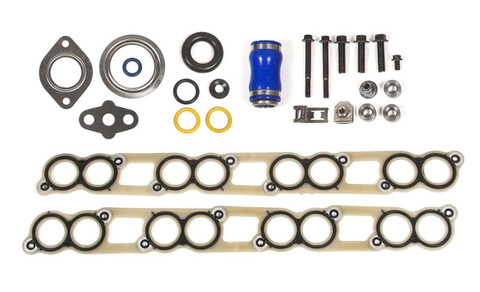 2003-2010 FORD POWERSTROKE 6.0L DIESEL EGR COOLER GASKET KIT(WITH INTAKE GASKETS & HARDWARE)