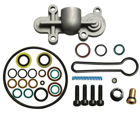 2003-2007 FORD 6.0L POWERSTROKE FUEL PRESSURE REGULATOR  UPDATED BLUE SPRING KIT