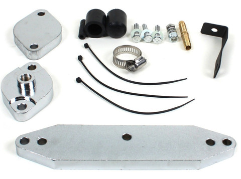 EGR VALVE COOLER RACE KIT FOR 2011-2019 FORD 6.7L POWERSTROKE WITH OUT HOSE (BASIC KIT) *FOR OFF-ROAD USAGE ONLY!