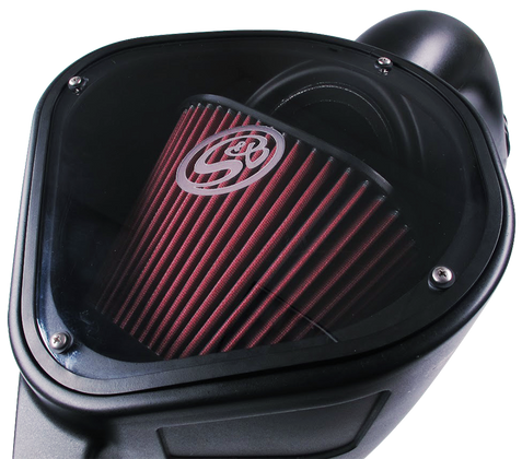 S&B COLD AIR INTAKE FOR 2013-2018 DODGE 6.7L CUMMINS (CLEANABLE FILTER)