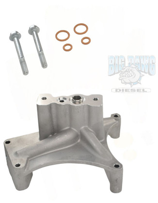 1999.5-2003 FORD 7.3L POWERSTROKE TURBO PEDESTAL NON-EBPV WITH O-RING MOUNTING HARDWARE