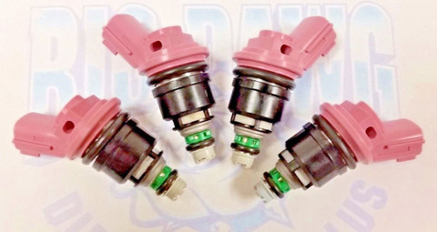 NEW SET OF 4 1991-1999 Fits A NISSAN 200SX NX SENTRA 1.6L Vin A E FUEL INJECTOR