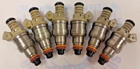 (6) 1993-1996 FORD E150 E250 E350 F150 F250 F350 4.9L Vin Y Z FUEL INJECTORS