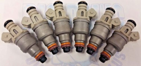 1995-2000 FORD MAZDA & MERCURY 3.0L Vin U REMANUFACTURED FUEL INJECTORS SET OF 6