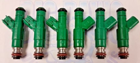 1998-2000 CHRYSLER DODGE PLYMOUTH 3.3L FLEX FUEL Vin G  REMAN FUEL INJECTORS 0280155789  (Set of 6)