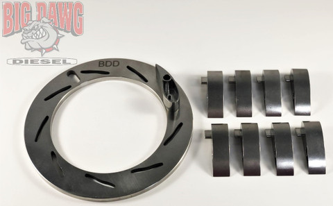 2003-2004.5 FORD POWERSTROKE 6.0L TURBO UNISON NOZZLE RING PLATE & 9 VANES 15MM 304 STAINLESS STEEL