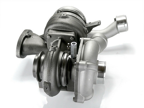 2008-2010 FORD 6.4L POWERSTROKE DIESEL COMPOUND TURBOCHARGER CAST WHEEL WITH HARDWARE MOUNTING INSTALLATION KIT