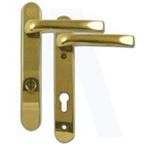 ASEC Kite Secure PAS24 2 Star Lever/Lever Door Handle PZ92mm 122mm Screw Centres