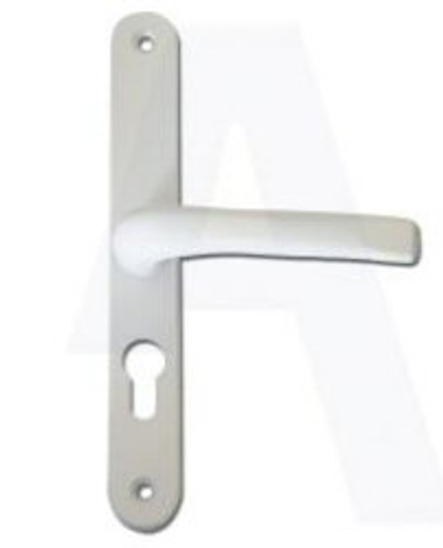 ASEC UPVC Lever/Lever Door Handle PZ48mm 200mm Screw Centres