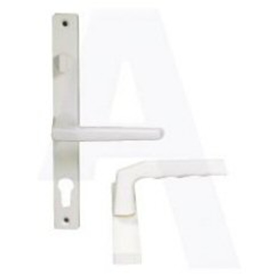 Hoppe UPVC Lever/Lever Door Handle with Snib PZ68mm 215mm Screw Centres
