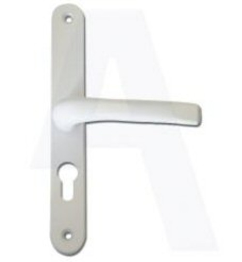 ASEC UPVC Lever/Lever Door Handle PZ70mm 240mm Screw Centres
