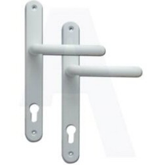 Fab & Fix Balmoral UPVC Lever/Lever Door Handle PZ92mm 265mm Screw Centres