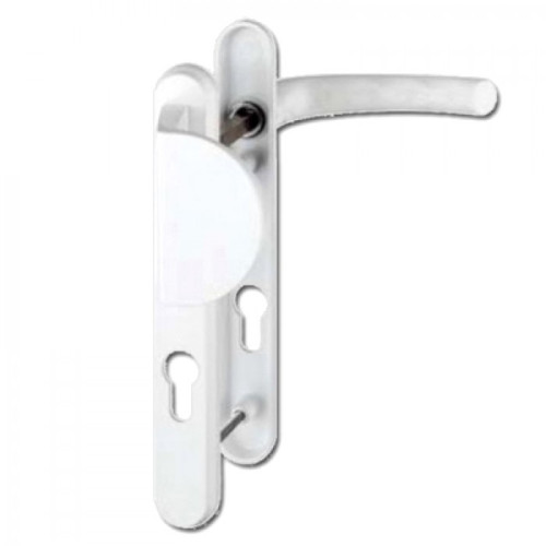 Hoppe UPVC Lever/Fixed Pad Door Handle PZ92mm 122mm Screw Centres