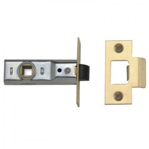 Union 2648 Tubular Latches Polished Brass