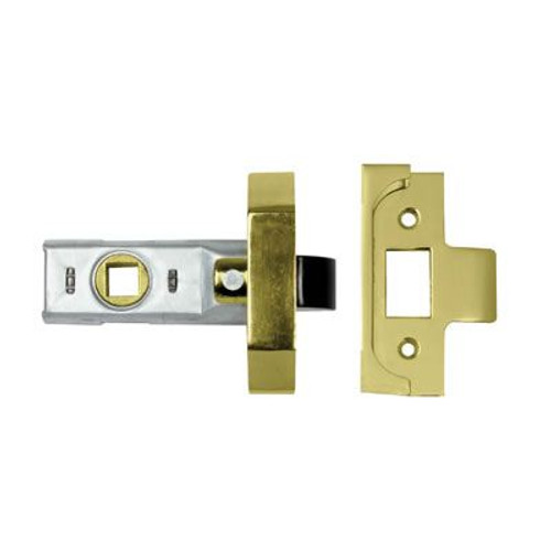 """Union 2650 Rebated Tubular Latches available in sizes 2½"""" and 3"""""""