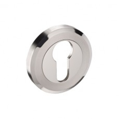 Access Hardware Duo Stainless Steel Euro Profile Keyhole Escutcheon