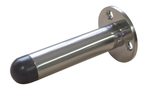 Access Hardware Skirting Door Stop on Rose 75mm