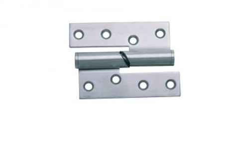 Falling Butt Hinges 102mm Satin Stainless Steel