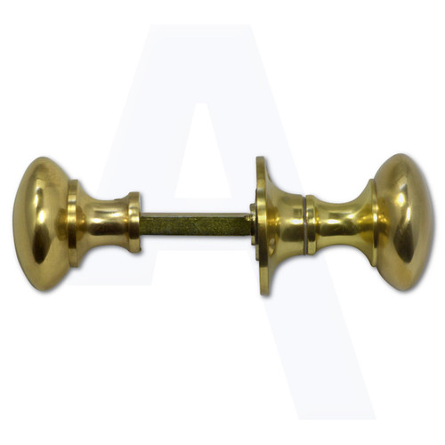 ASEC Rim Knob Set - 50mm Polished Brass