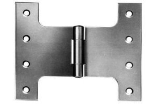 100mm 4'' Parliament Hinges Self Coloured,Bright Zinc or Electro Brassed