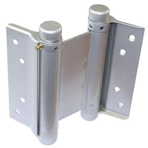 "Double Action Spring Hinges Silver Lacquered Finish 3"",4"",5"" or 6"""