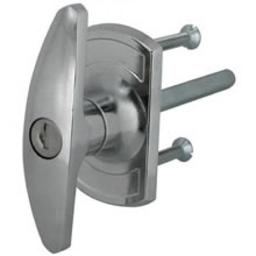 Chrome Garage Door Handles Square or Diamond Spindles
